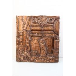 Obrazek - płaskorzeźba z masy plastycznej