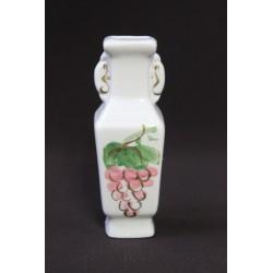 Wazonik miniaturka - ręcznie malowany