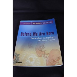 Before We Are Born. Essentials of Embryology and Birth Defects - 6th - K. L. Moore, T.V.N. Persaud