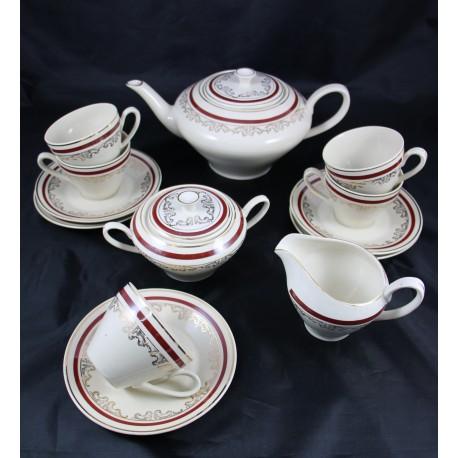 Serwis do herbaty - Porcelit - 5 osób
