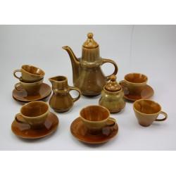 Serwis do kawy / herbaty kamionka Mirostowice