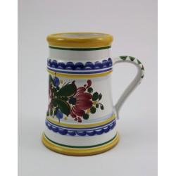 Kufel ceramiczny ręcznie malowany