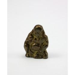 Mała figurka Budda - mosiądz