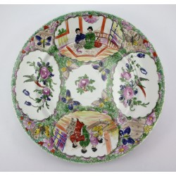 Duży talerz ręcznie malowany - Japonia