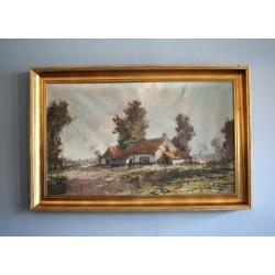 Obraz olejny na płótnie H. J. Pauwels