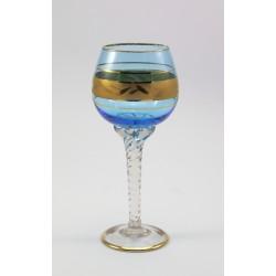 Kieliszek do wina - szkło barwione Włochy