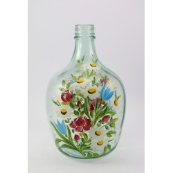 Butla - wazon ręcznie malowany
