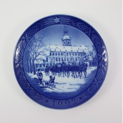 Talerz kolekcjonerski Royal Copenhagen 1992r.