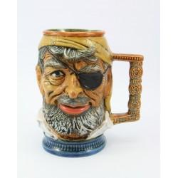 Kufel ceramiczny kolekcjonerski Pirat -Włochy