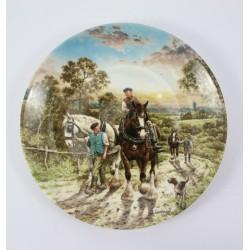Talerz kolekcjonerski Wedgwood Anglia