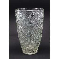 Duży wazon - szkło lane bezbarwne