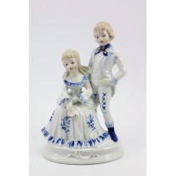 Figurka porcelanowa - para