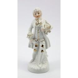 Figurka porcelanowa - arystokrata