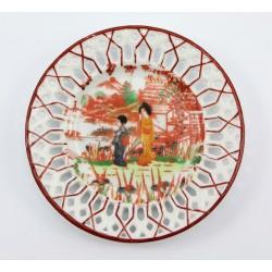 Mały talerzyk kolekcjonerski - Japonia