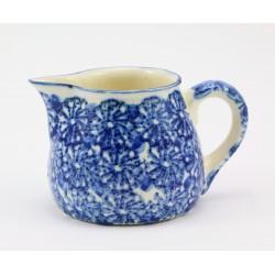 Mlecznik ceramiczny - kobaltowy dekor