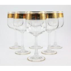 Kieliszki do wina - 6szt. szkło transparentne