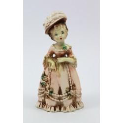 Figurka - Dama ręcznie malowana ozn. Foreign