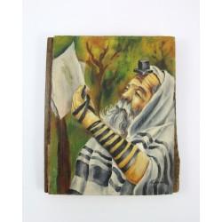 """Obraz """"Żyd"""" - płótno na desce"""