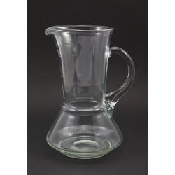 Dzbanek do napojów - szkło rwane