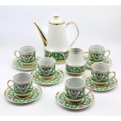 Serwis do kawy 6 osób - Chodzież fason Roman