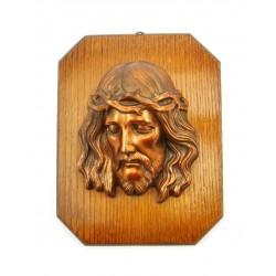 Płaskorzeźba Jezus w cierniowej koronie