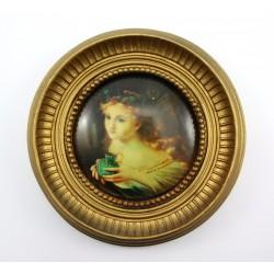 Obraz - portret na porcelanie (replika)