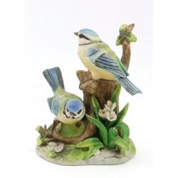 Figurka biskwit ptak - sikorka modra - para