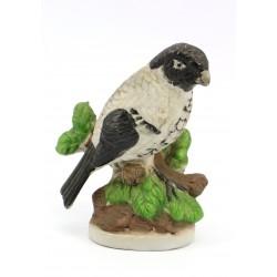 Figurka biskwit ptak - ręcznie malowana