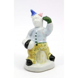 Figurka ceramiczna klaun