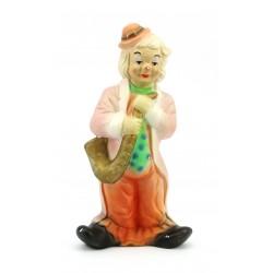Figurka gipsowa klaun