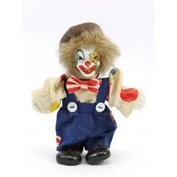 Figurka klaun - ręcznie malowana