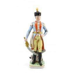 Figurka - żołnierz - oficer Francja