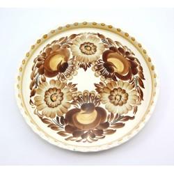 Patera na ciasto - talerz fajans Koło