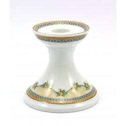 Świecznik porcelanowy na jedną świecę Kaiser