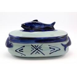 Naczynie ceramiczne do zapiekania ryba