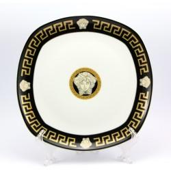 Talerz - patera Da Vinci Collection 24k złoto