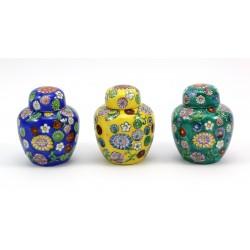 Zestaw 3 sztuki amfora miniaturowa - Japonia