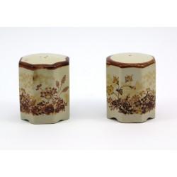 Solniczka i pieprzniczka ceramiczna - zestaw