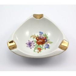 Głęboka popielniczka porcelanowa - Ćmielów