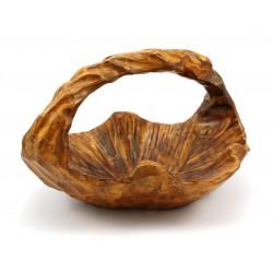 Patera - koszyk - drewno egzotyczne
